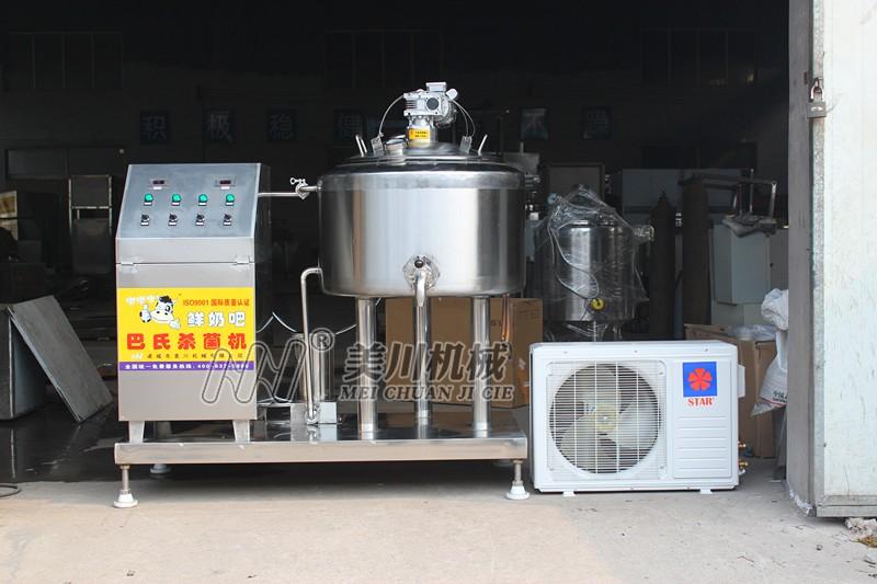 单水箱专利降温型牛奶巴氏杀菌机