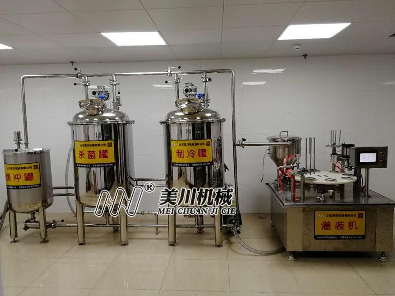 小型乳品生产线