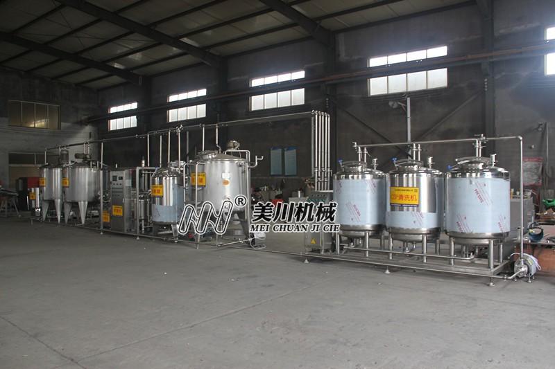 低温乳品生产线