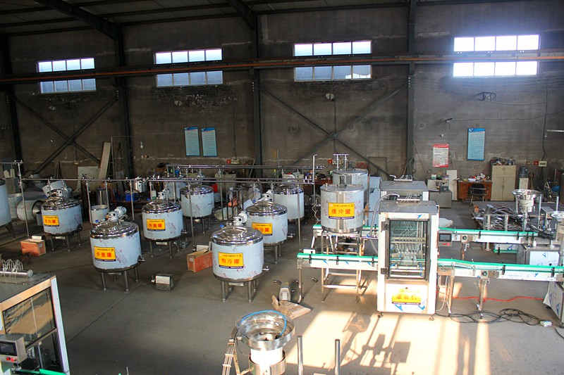 300L罐式羊奶生产线