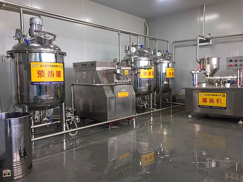 实验室用牛奶生产线设备