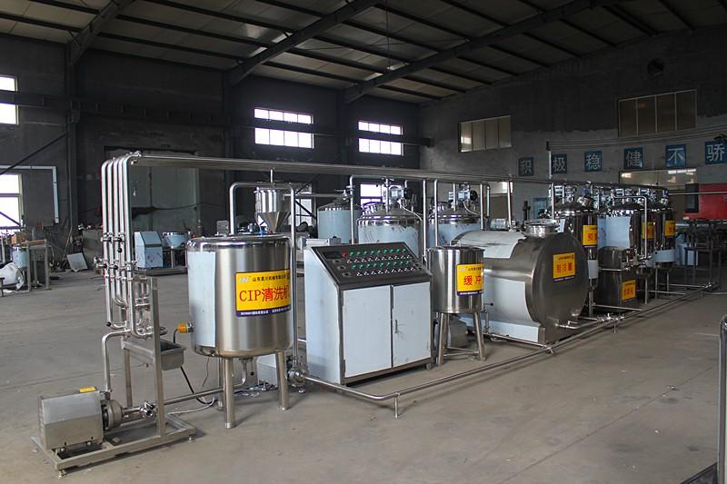 全套乳品生产线