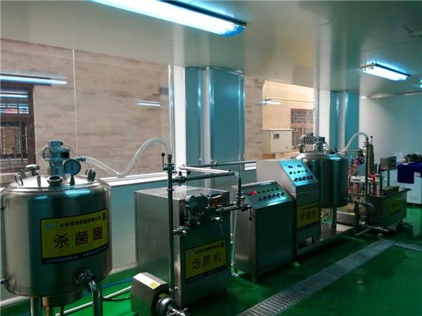 河北土门景区酸奶生产线