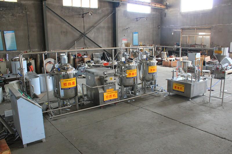 实验室用巴氏奶生产线