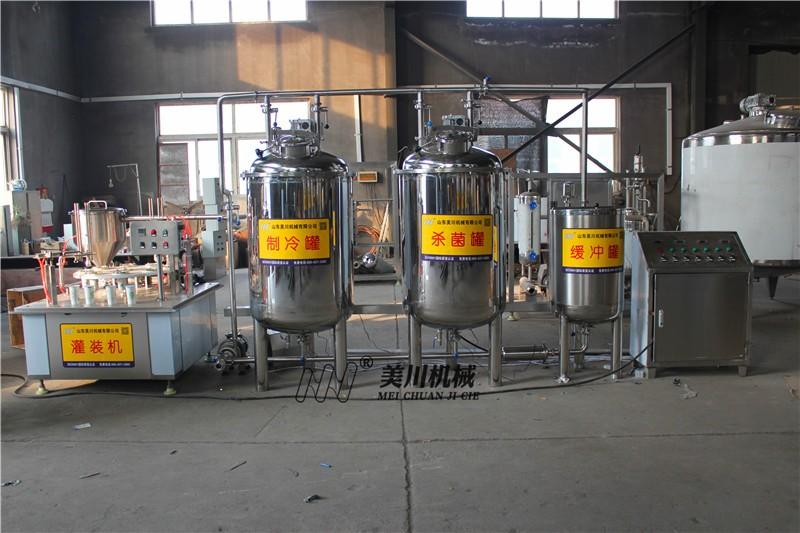 200公斤小型羊奶生产线