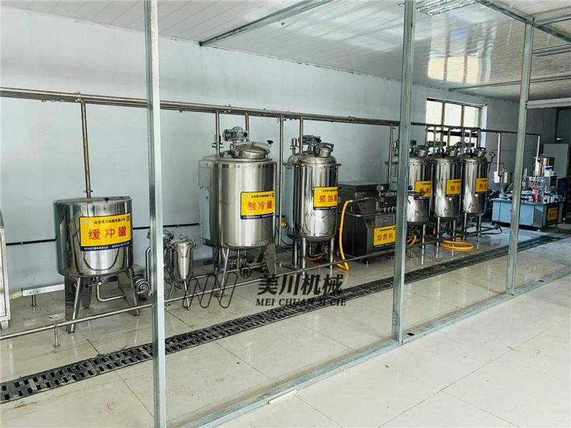 新款乳品生产线