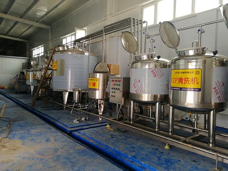 新疆牛奶生产线