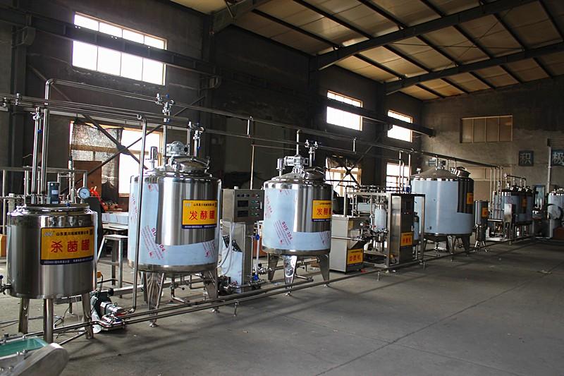 牛奶酸奶生产线