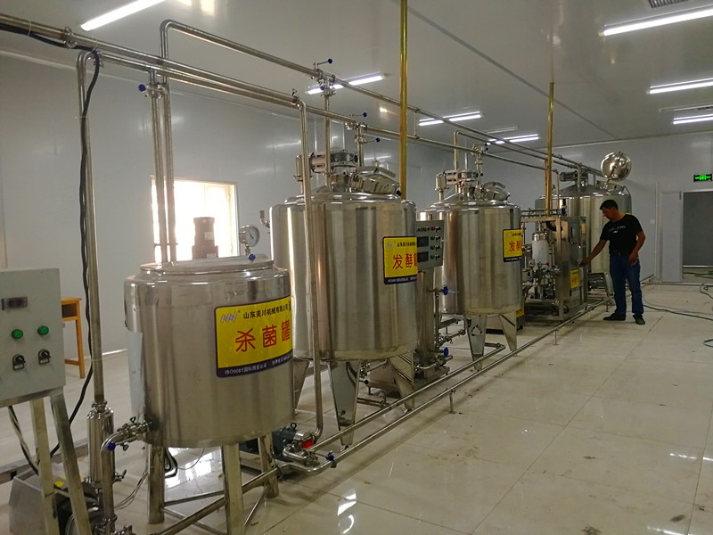 全自动牛奶生产线