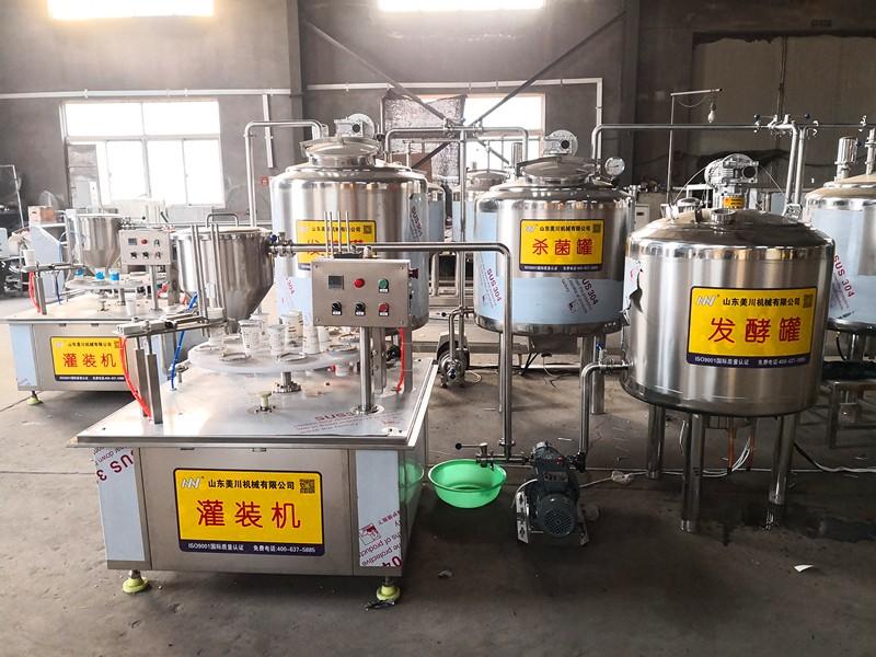 酸奶发酵灌装生产线